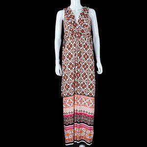 White House Black Market Long Regal Maxi Dress